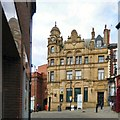 SJ8990 : Union Bank of Manchester Building by Gerald England
