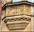 SJ8990 : Union Bank: Architectural detail by Gerald England