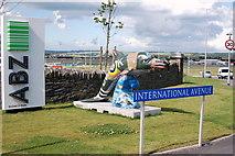 NJ8711 : International Avenue, Aberdeen by Bill Harrison