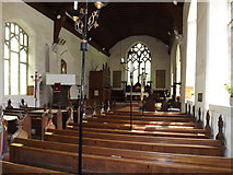 TM1469 : Inside All Saints Church by Geographer
