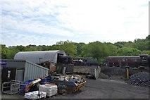 NZ8204 : Railway workshops at Grosmont by David Smith