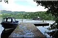NN5700 : Jetty at Inchmahome by Billy McCrorie