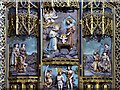 SJ3589 : Lady Chapel, Triptych Detail by David Dixon