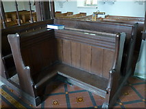 SS6138 : Inside St Michael & All Angels church, Loxhore (C) by Basher Eyre