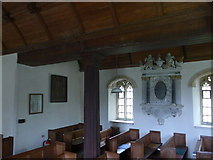 SS6138 : Inside St Michael & All Angels church, Loxhore (G) by Basher Eyre