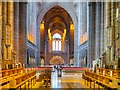 SJ3589 : Liverpool Cathedral, Interior by David Dixon