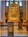 SJ3589 : Chancel, Altar and Reredos, Liverpool Cathedral by David Dixon