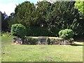 SJ4034 : Ellesmere: memorial in Cremorne Gardens by Jonathan Hutchins