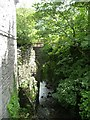 SH7507 : Disused railway bridge over Afon Deri, Corris by Christine Johnstone