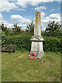 TM1170 : Stoke Ash War Memorial by Adrian Cable