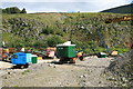 NY3224 : Threlkeld Quarry & Mining Museum - excavator wonderland by Chris Allen