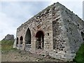 NU1341 : Disused  Lime  Kilns  on  Holy  Island by Martin Dawes