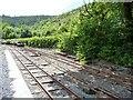 SH7506 : Maespoeth Junction, Corris Railway by Christine Johnstone