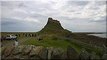 NU1341 : Lindisfarne Castle by Steven Haslington