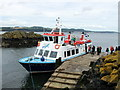 NT1982 : Maid of the Forth at Inchcolm by PAUL FARMER