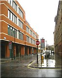 TQ3083 : Building at the corner of York Way and Railway Street, King's Cross, London by Robin Stott