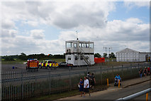 SP6741 : Air Traffic Control Building at Silverstone by Ian S