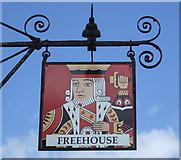 TM0890 : Sign for the King's Head, New Buckenham by JThomas