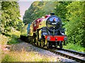 SD7914 : 'The Crab' approaches Summerseat by David Dixon