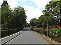 TM1746 : Cemetery Lane, Westerfield, Ipswich by Adrian Cable