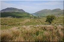SH5752 : View to Llyn Cwellyn by Philip Halling