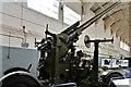 TL4546 : Duxford Imperial War Museum: 3.7inch World War II heavy anti-aircraft gun by Michael Garlick