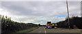SJ2701 : Roadworks near The Folly by John Firth