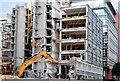 J3373 : Clarendon House (demolition), Belfast - July 2015(1) by Albert Bridge