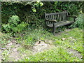 TG0442 : Seat and spigot mortar on Wiveton Green by Adrian S Pye