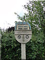 TG2039 : Felbrigg village sign (detail) by Adrian S Pye