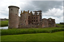 NY0265 : Caerlaverock Castle by John M