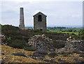 SH4490 : Pearl engine house, Parys Mountain by Ian Taylor