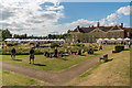 TQ2549 : Eat! food fest in the park by Ian Capper