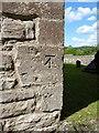 ST5069 : OS benchmark - Flax Bourton, church by Richard Law