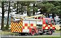 J4673 : Fire appliances near Newtownards - July 2015 (3) by Albert Bridge