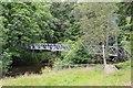 NT5640 : Footbridge, Carolside by Jim Barton