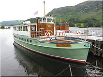 NY3916 : MV Lady Wakefield at Glenridding Pier on Ullswater by Gareth James