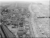 SD3035 : Blackpool's Promenade and Beach from the Tower, 1959 by Ben Brooksbank