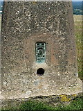 TQ1312 : Flush Bracket S4060 Chanctonbury Hill trig by Richard Law