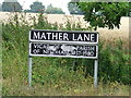 TM2282 : Road Name Sign by Keith Evans