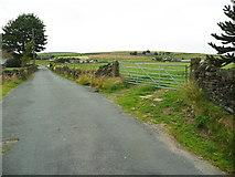 SE0322 : Thunderton Lane at Sowerby Bridge FP114 (Link A) by Humphrey Bolton