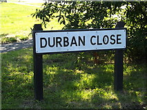 TM3876 : Durban Close sign by Adrian Cable