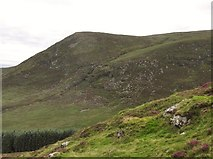 J3629 : The Black Steps hanging valley from the slopes of Slievenamaddy by Eric Jones