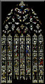 TF1444 : East window, St Andrew's church, Heckington by Julian P Guffogg