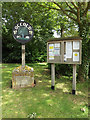 TM1570 : Occold Village sign & Notice Board by Adrian Cable