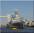 TQ3380 : HMS 'Belfast' by Rossographer