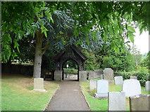 SK2381 : St Michael, Hathersage: churchyard (v) by Basher Eyre