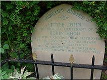 SK2381 : St Michael, Hathersage: churchyard (viii) by Basher Eyre