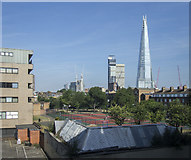 TQ3379 : View towards The Shard, London by Rossographer