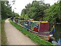 TQ1484 : Gloopy (or Electra), narrowboat on Paddington Branch Canal by David Hawgood